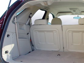 buick rendezvous interior image