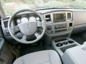 dodge ram interior image