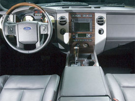 ford expedition interior image