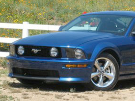 ford mustang exterior image