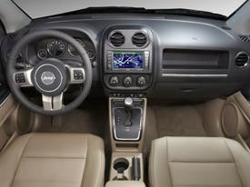 jeep compass interior image