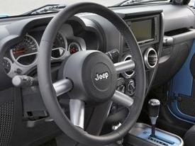 jeep wrangler interior image